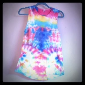 Tie-Dyed Muscle Tank